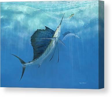 Pelegic Fish Canvas Prints