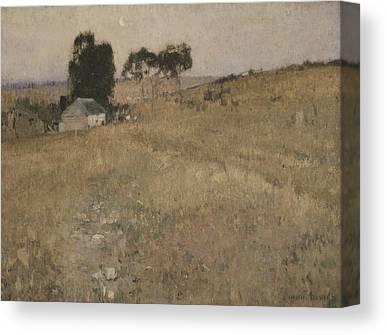 A Summer Evening Canvas Prints