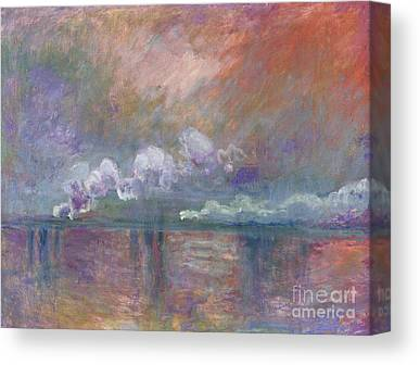 Smoke In The Fog Canvas Prints