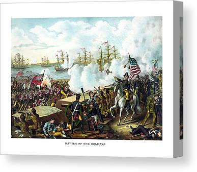 President Jackson Canvas Prints
