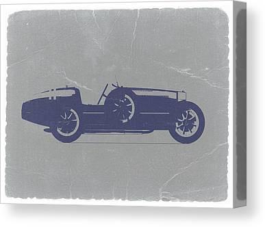 Bugatti Classic Car Canvas Prints