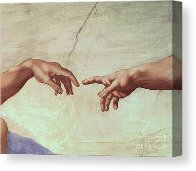 Sistine Paintings Canvas Prints