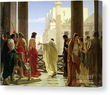 Pilate Canvas Prints