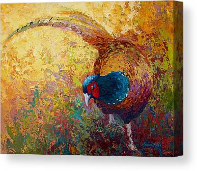 Prairie Bird Canvas Prints