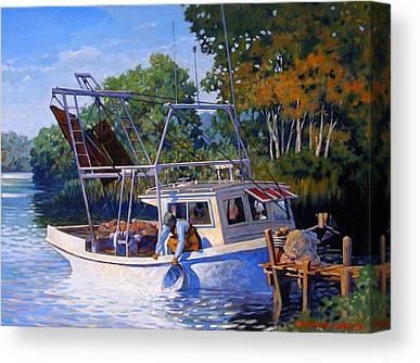 Skiffs Canvas Prints