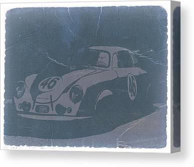 Porsche 356 Coupe Front Canvas Prints