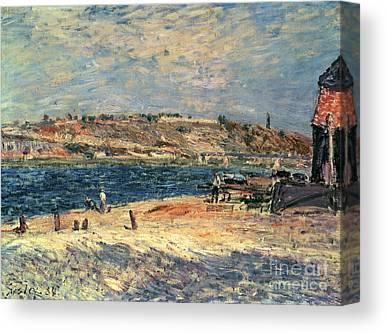 River Scenes Paintings Canvas Prints