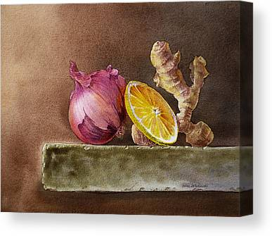 Onion Canvas Prints