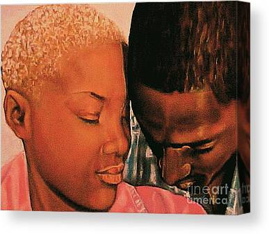 Talk To Me Baby Canvas Prints