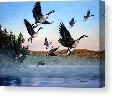 Goose Canvas Prints