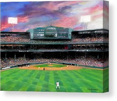Baseball Stadiums Canvas Prints