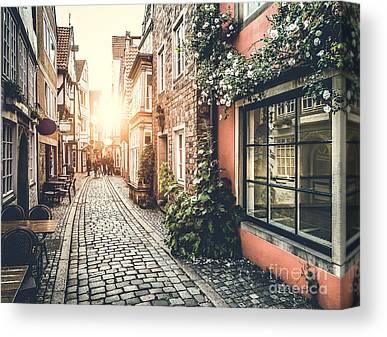 Bremen Canvas Prints