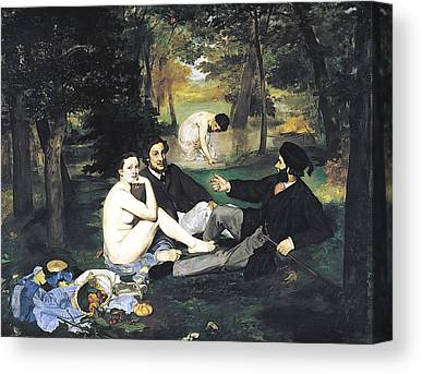Manet Canvas Prints