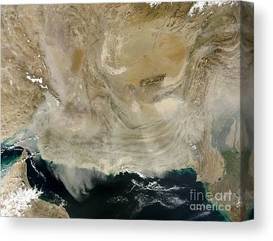 Ocean Of Emptiness Canvas Prints
