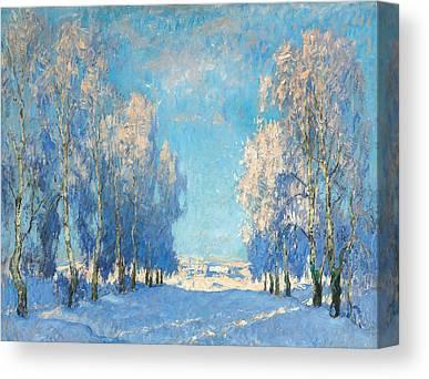 Russian Impressionism Canvas Prints