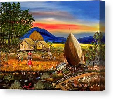 Filipina Canvas Prints