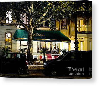 Kampinsky Hotel Paintings Canvas Prints