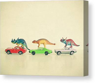 Toy Car Canvas Prints