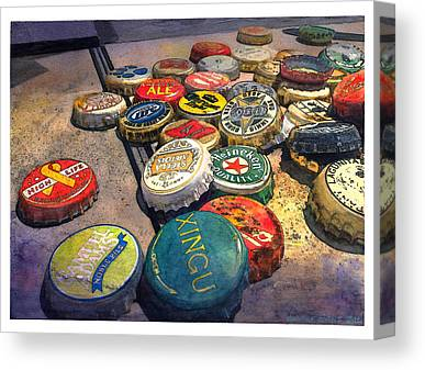 Craft Beer Canvas Prints