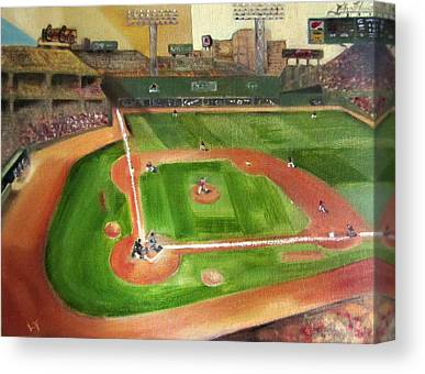Bosox Paintings Canvas Prints