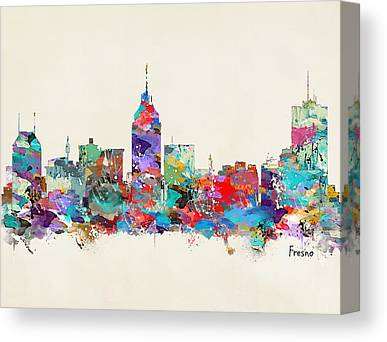 Fresco Canvas Prints