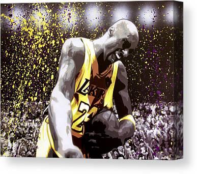 La Lakers Canvas Prints