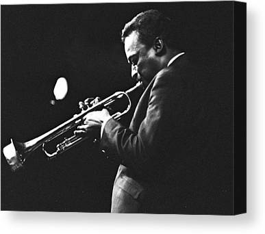 Miles Davis Canvas Prints