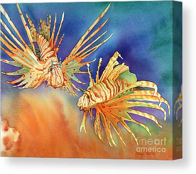 Two Fish Canvas Prints