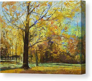 Abstract Realist Landscape Canvas Prints