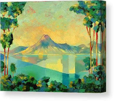 Volcanoes Canvas Prints