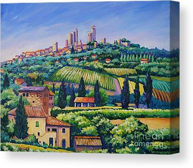 Italian Landscapes Canvas Prints