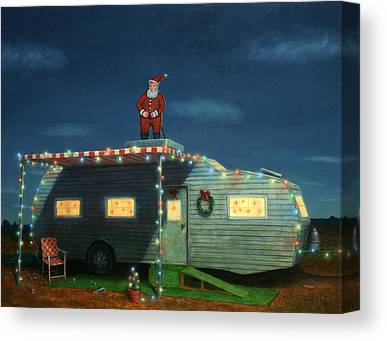 Holiday Canvas Prints