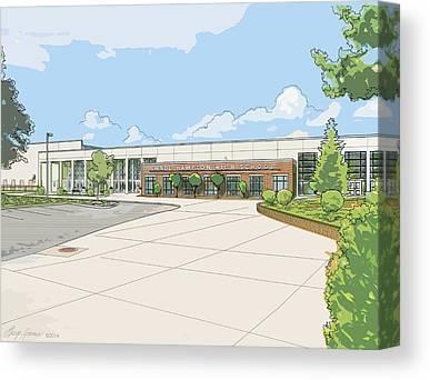 Hamptons Mixed Media Canvas Prints