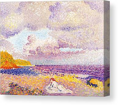 An Incoming Storm Canvas Prints
