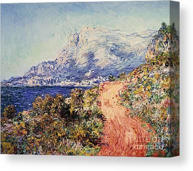 Menton Canvas Prints