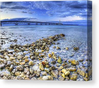 Lake Huron Canvas Prints