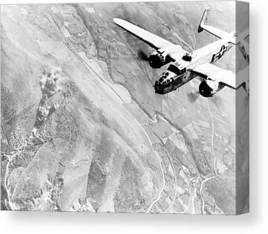 B-25 Bomber Canvas Prints