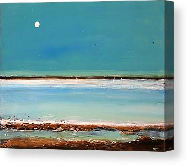 Lake Shore Canvas Prints