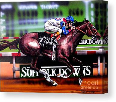 Racing Canvas Prints