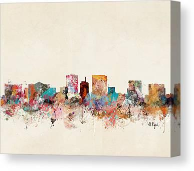 El Paso Canvas Prints