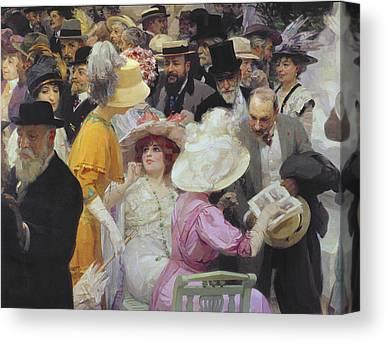 Social History Paintings Canvas Prints