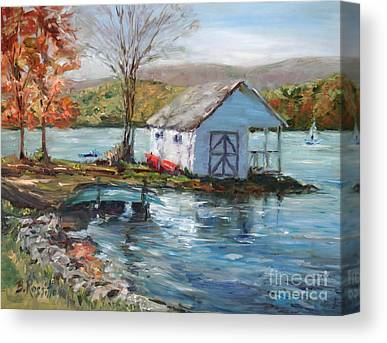 Litchfield County Paintings Canvas Prints