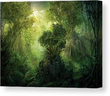 Magic Paintings Canvas Prints
