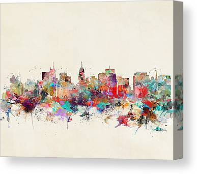 Madison Canvas Prints