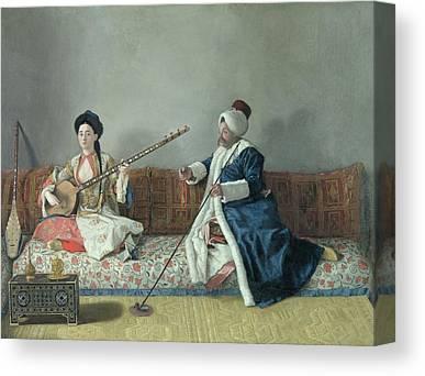 Jean Etienne Liotard Canvas Prints