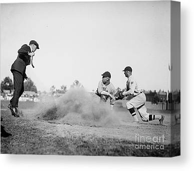 Homeplate Canvas Prints