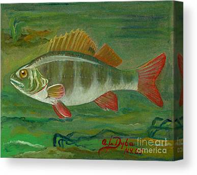 Ryby W Sztuce Paintings Canvas Prints