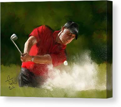 Masters Winners Canvas Prints