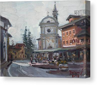 Church Street Canvas Prints