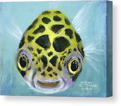 Tropical Fish Canvas Prints